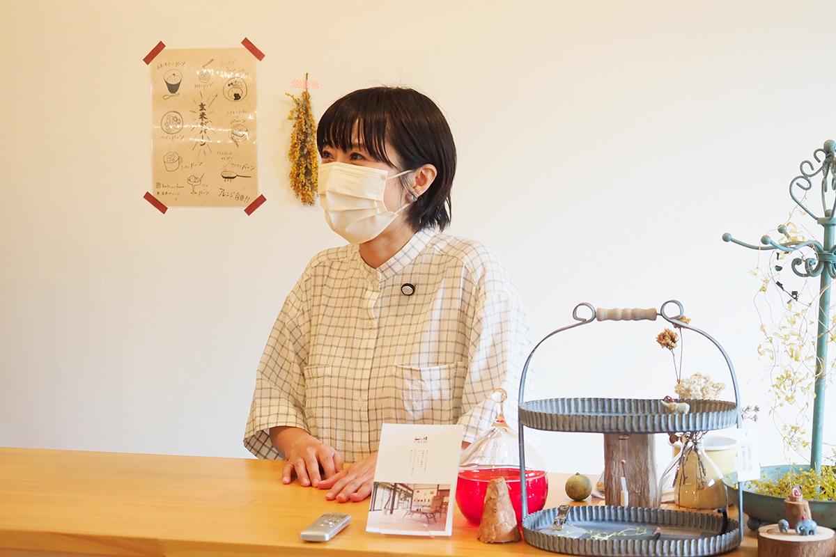 coconiのオーナー・浜崎祥美さん